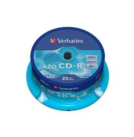 DISKI VERBATIM CD-R 700 MB 52X CAKE 25