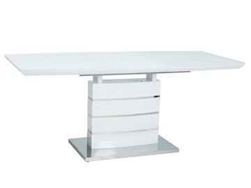 Signal Meble Leonardo Table 160-220cm White