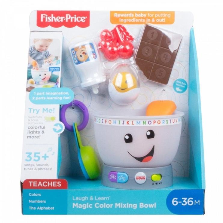 Interaktīva rotaļlieta Fisher Price Laugh & Learn Magic Color Mixing Bowl GMX52
