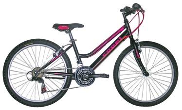 """Velosipēds Coppi Jaunty 24"""" Black Pink"""
