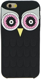 Zooky Soft 3D Back Case For Samsung Galaxy A5 A510F Owl black