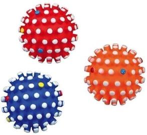 Rotaļlieta suņiem Trixie Vinyl Ball with thick spike 10 cm
