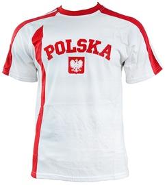 Футболка Marba Sport Poland Replica Cotton T-shirt White L