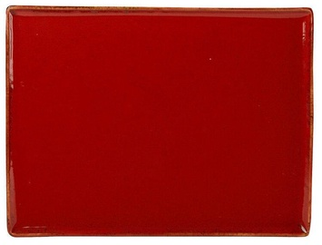 Porland Seasons Serving Plate 35x26.2cm Red