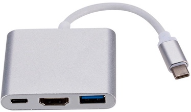 RoGer Type-C To HDMI Adapter Silver