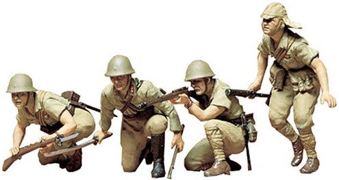 Конструктор Tamiya Japanese Army Infantry Kit