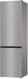 Gorenje Fridge Freezer NRK6201ES4 Gray