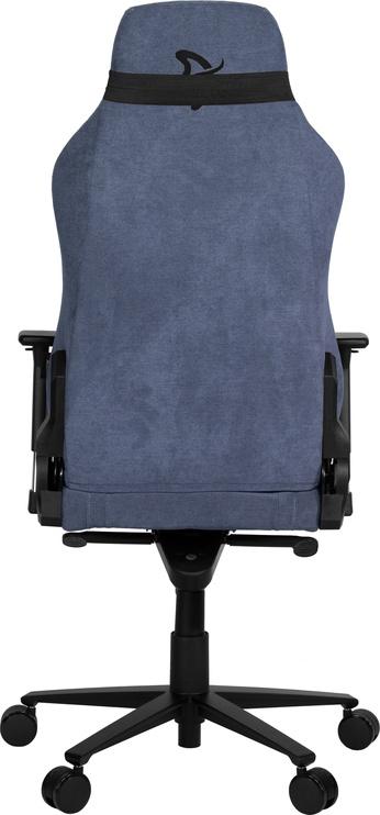 Spēļu krēsls Arozzi Vernazza Soft Fabric Blue