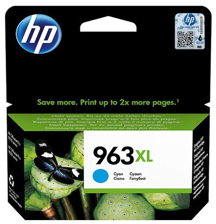 HP 963XL Ink Cartridge 3JA27AE Cyan
