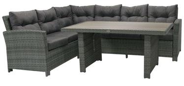 Комплект уличной мебели Home4you Pavia 21091 Dark Grey