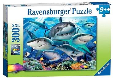 Ravensburger Puzzle Smiling Sharks 300pcs 13225
