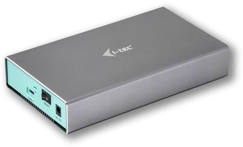 HDD / SSD korpuss (enclousure) i-Tec MySafe USB-C 3.5'' SATA External Case
