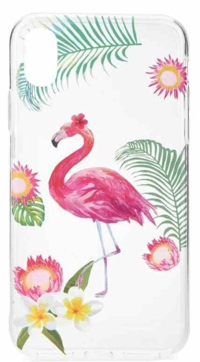 Mocco Summer Flamingo Back Case For Xiaomi Redmi 5A Transparent