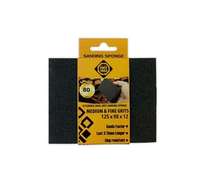 Slīpēšanas sūklis Forte Tools, NR120, 125x98x12 mm, 1 gab.