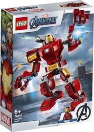 Конструктор LEGO®Super Heroes 76140 Железный Человек: трасформер