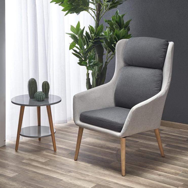 Кресло Halmar Purio, серый, 75x67x103 см