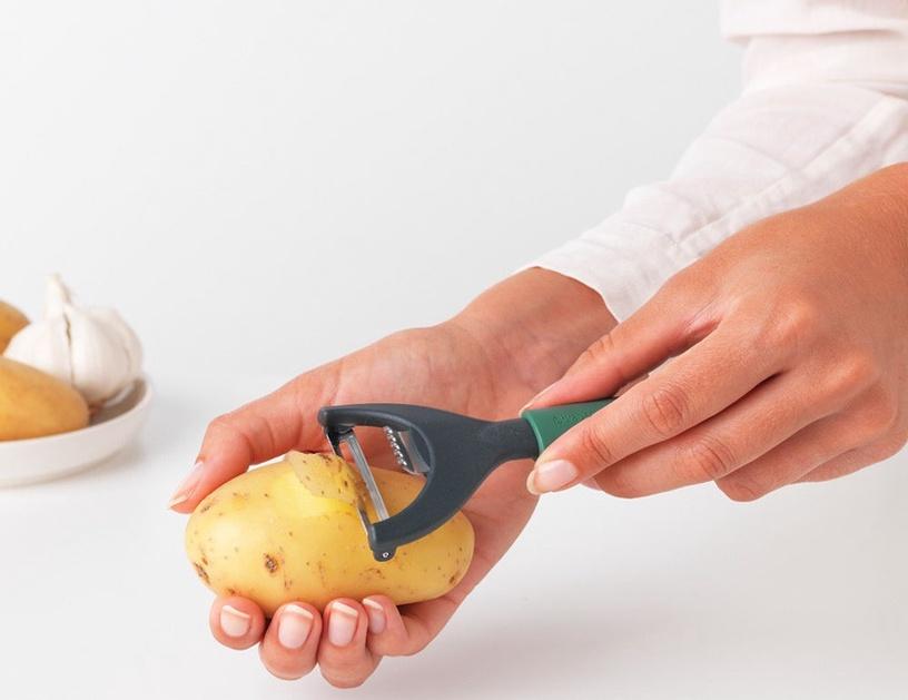 Нож для чистки Brabantia Tasty+ Y-Peeler plus Zester Fir Green
