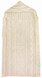 Lulando Knitted Sleeping Bag Beige 70x35cm