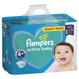 Pampers Active Baby S4 Plus 70