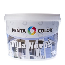Krāsa fasādēm Pentacolor Villa Novus, 10 l, balta