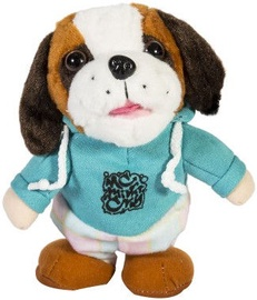 Home4you Walking And Talking Soft Dog Otto Blue 77981