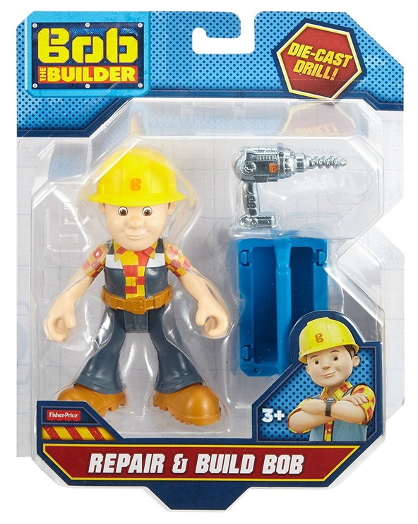 Фигурка-игрушка Fisher Price Bob The Builder Repair & Build Bob DHB06