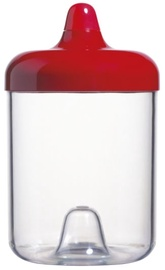 ViceVersa Round Canister 1L Red