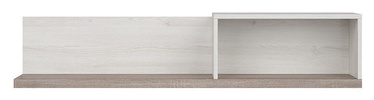 Black Red White Luca Juzi Shelf Dark Sonoma Oak