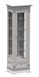 Шкаф-витрина MN SV1-60 White, 70x49.5x210 см