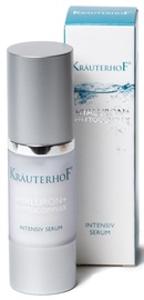 Sejas serums Krauterhof Hyaluron + Phytocomplex Intensive Serum, 30 ml