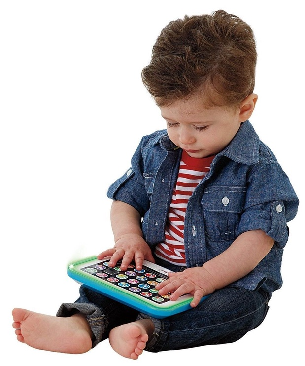 Интерактивная игрушка Fisher Price Laugh & Learn Smart Stages Tablet DLM39, LV