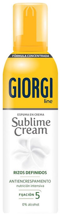 Giorgi Line Sublime Cream Curl Styling Mousse 150ml
