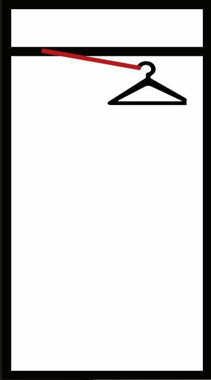 Skapis WIPMEB Lara, balta/ozola, 55x34x179 cm