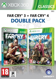 Xbox 360 spēle Far Cry 3 And Far Cry 4 Double Pack Xbox 360