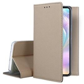 Mocco Smart Magnet Book Case For Huawei P30 Gold