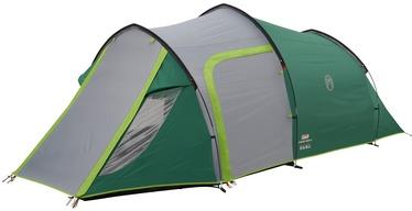 Trīsvietīga telts Coleman Chimney Rock 3 Plus, zaļa