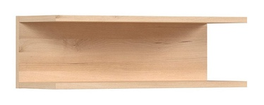 Black Red White Namek Wall Shelf 60.5cm Beech