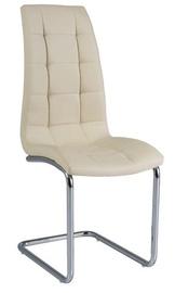 Ēdamistabas krēsls Signal Meble H103 Cream, 1 gab.