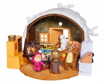 Rotaļlietu figūriņa Simba Masha And The Bear Winter Bear House 109301023