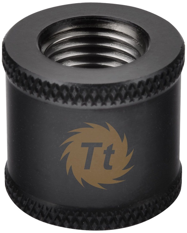 Thermaltake Pacific G1/4 Female to Female 20mm Extender Black