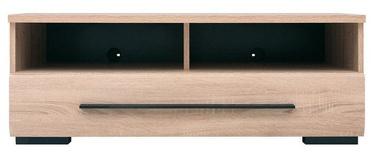 ТВ стол Black Red White Fever Sonoma Oak, 1000x500x370 мм