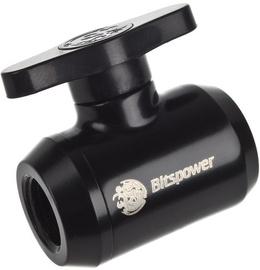BitsPower Stop Valve WAZU-235 Black