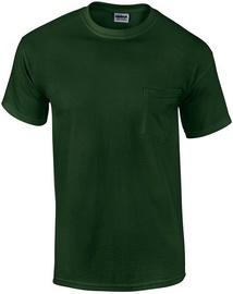 T-krekls Gildan Cotton T-Shirt Green XL
