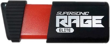 Patriot Memory Supersonic Rage Elite 128GB USB 3.1 Black