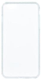 Beeyo Diamond Frame Back Case For Samsung Galaxy S5 Transparent/White