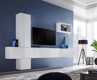 ASM Blox VI Living Room Wall Unit Set White