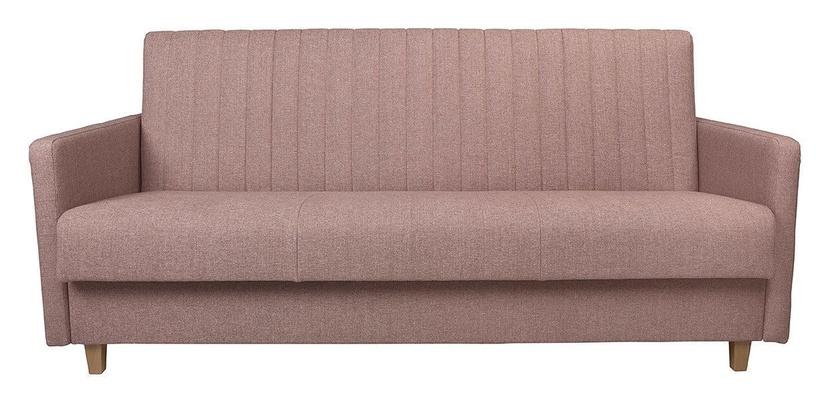 Dīvāngulta Black Red White Beira Pink, 206 x 98 x 96 cm
