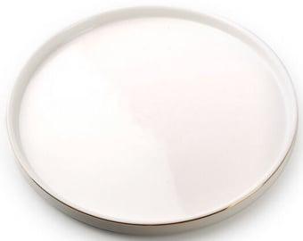Šķīvs Mondex AffekDesign Grace Dessert Plate White 20.3cm