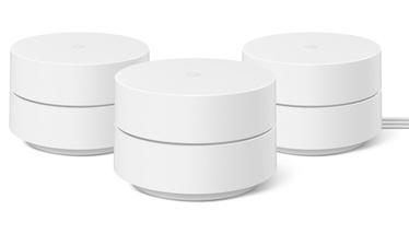 Точка беспроводного доступа Google Wifi AC1200 3 Pack, 2.4 ГГц, белый