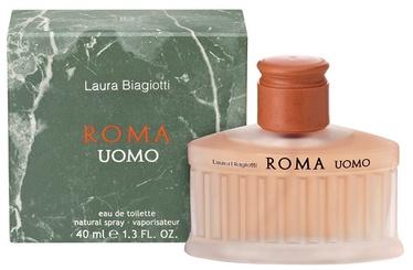 Tualetes ūdens Laura Biagiotti Roma Uomo 40ml EDT
